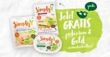 Vegane Simply V Produkte gratis testen – Cashback Aktion