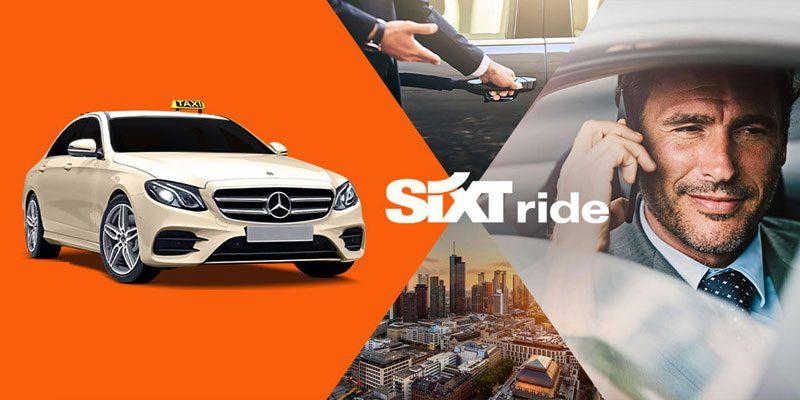 Gratis Taxifahrt! – 20€ Sixt Ride Gutschein (auch Bestandskunden) – Taxi & Limousinen Service [Black Friday]