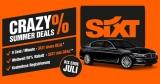 Sixt Share Crazy Summer Deals: Carsharing für 9 Cent/Minute