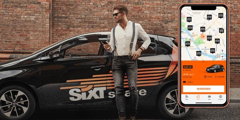 20€ Sixt Share Gutschein fürs Carsharing (auch Bestandskunden)