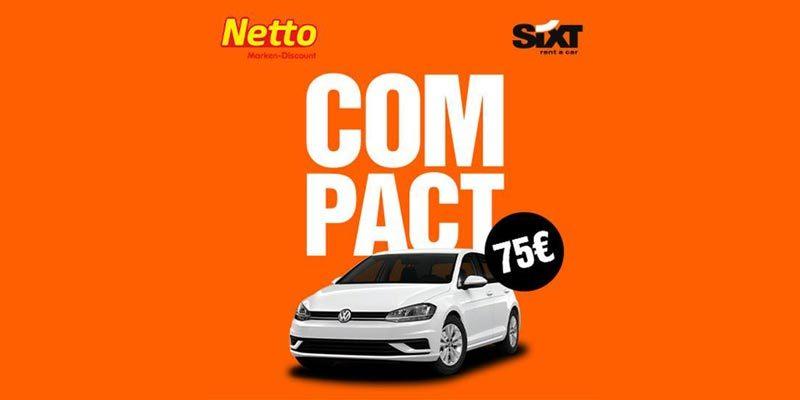 Sixt Wochenendgutschein bei Netto – 3 Tage Mietwagen ab 75€