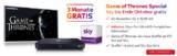 3 Monate Sky Entertainment gratis im Jahresabo – 9 Monate für 16,99€/Monat