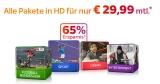Sky Komplettpaket (Cinema, Entertainment, Sport & Bundesliga) + HD Premium + Sky Go für 29,99€