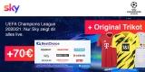 Sky Q Abo mit 70€ BestChoice-/ Amazon Gutschein + Bundesliga-Trikot: z.B. Sky Entertainment + Sport für 17,50€