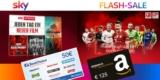 Sky Q Abo mit 125€ Amazon Gutschein + 50€ BestChoice-/ Amazon Gutschein: z.B. Sky Entertainment + Sport für 17,50€/Monat
