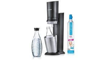 Sodastream Crystal 2.0 Wassersprudler inkl. 2x Glaskaraffen für 81,59€