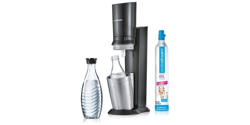 Sodastream Crystal 2.0 Wassersprudler inkl. Glaskaraffe für 79,99€