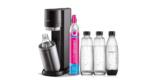 SodaStream Wassersprudler DUO inkl. CO2 Zylinder, 2x Glasflaschen & 2x Kunststoff Flaschen (1 Liter) für 99,99€