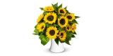 17 Sonnenblumen bei BlumeIdeal für 24,98€ online bestellen