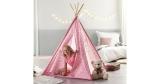 Spielzelt Mariano (Tipi-Zelt für Kinder) in rosa für 20€