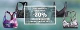 20% Gutschein für ausgewählte Sport-BHs bei Sportscheck