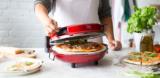 Springlane Pizzaofen Peppo mit Pizzastein (schwarz) für 49,90€