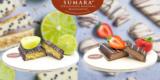 Stralsunder Marzipan Kennenlernbox Sommer (Limetten- & Erdbeer-Marzipantafel) für 12,50€
