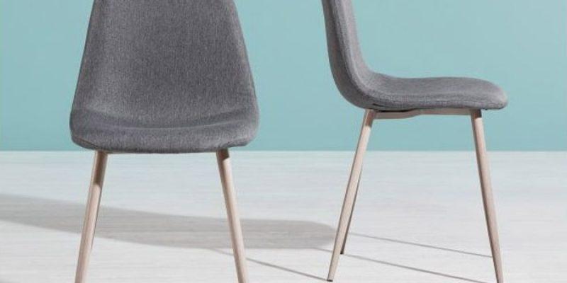 2x Stuhl Jessica im Skandi-Stil für 24,75€ inkl. Versand