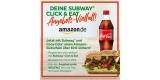 Subway Click & Eat: 10€ Amazon Gutschein für Subway Bestellung über mindestens 25€