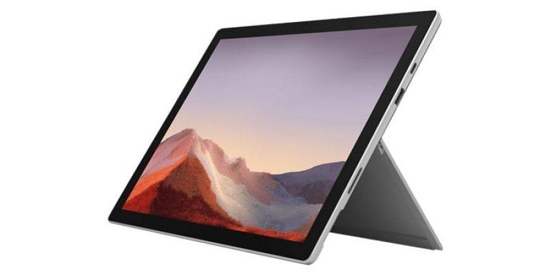 Microsoft Surface Pro 7 (12,3 Zoll, Intel i5, 128 GB SSD, 8 GB RAM) + Microsoft 365 Single für 789€