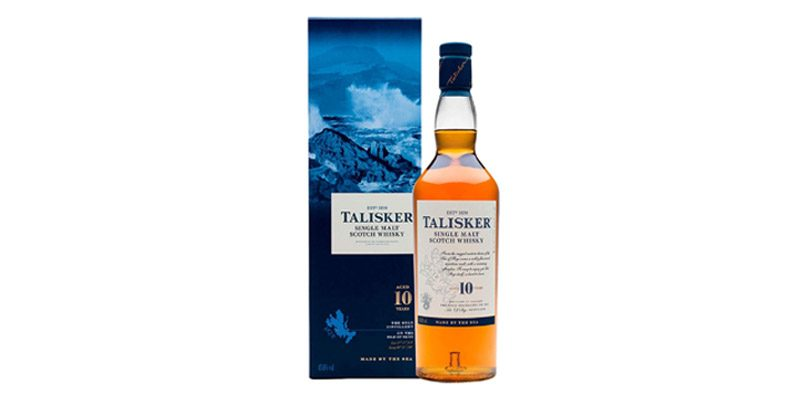 Talisker 10 Jahre Single Malt Scotch Whisky (0,7l) für 23,39€