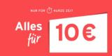 Tchibo Aktion: Alles für 10€ oder 15€ im Tchibo Online Shop (Mode, Accessoires, Deko, Küchengeräte, etc.)