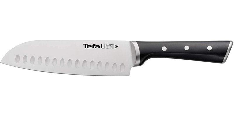 Tefal Ice Force Santoku Messer K23206 (18 cm Klinge) für 11,99€