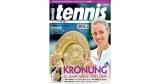 Tennis Magazin Jahresabo für 68€ + 60€ Amazon Gutschein