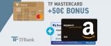 Kostenlose TFBank Kreditkarte (Mastercard Gold) + 50€ BestChoice- oder Amazon Gutschein