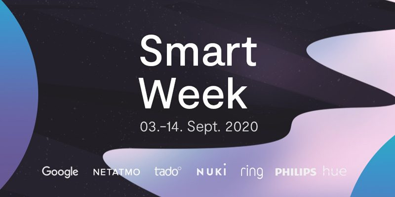 tink Smart Week 2020 – diverse Smart Home Deals (Sonos, Google, Bosch, Philips, etc.)