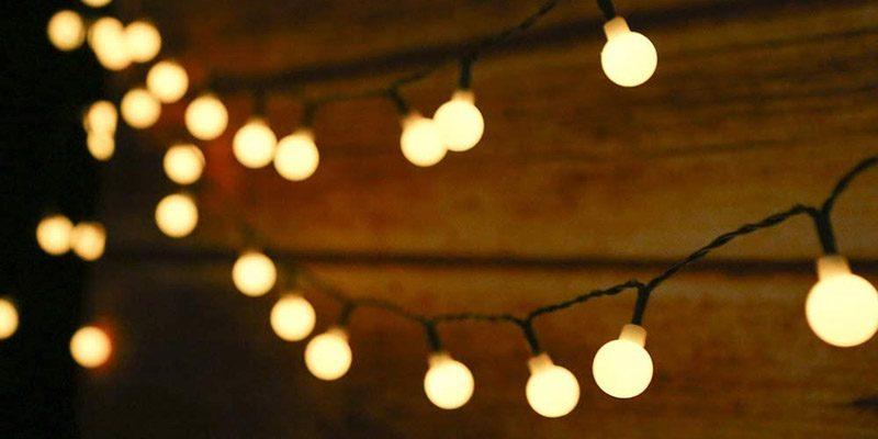 Tomshine Solar Lichterkette (50 LEDs) für Garten & Balkon für 7,99€