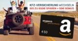 KFZ Versicherung wechseln + 50€ Amazon Gutschein – Toptarif