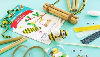 50% toucanBox Gutschein: Bastelbox für Kinder (3 – 8 Jahre)