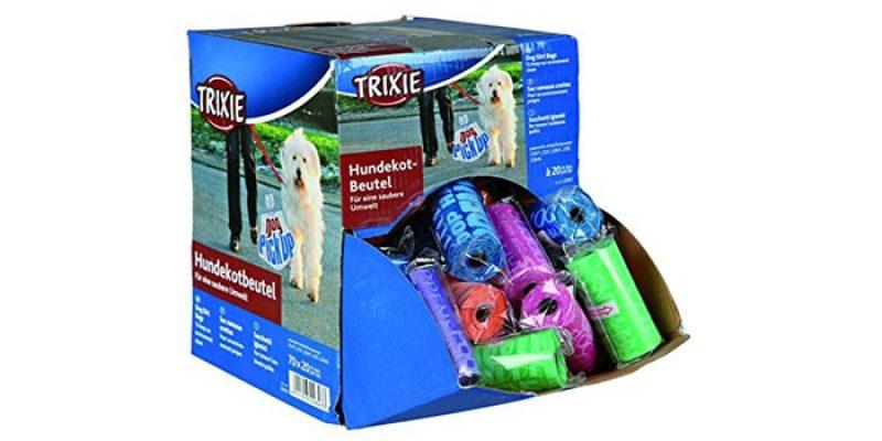 1.400x Trixie Hundekotbeutel (70 Rollen á 20 Stück) für 19,29€