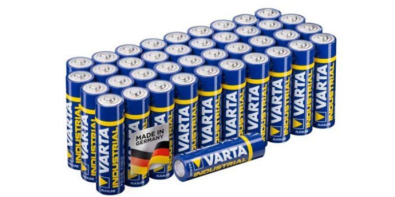 40x Varta Mignon Batterien AAA LR03 für 6,32€