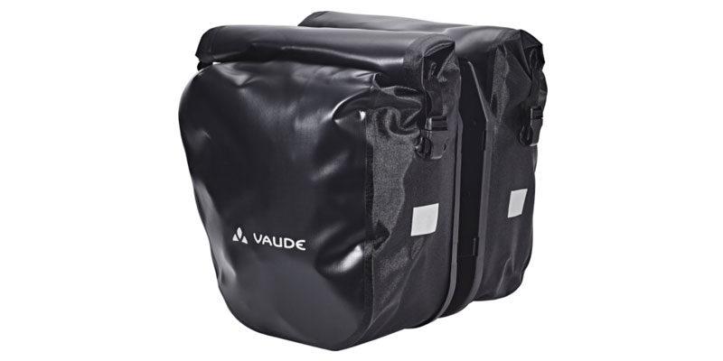 VAUDE Fahrradtasche SE Back Pannier 2 (schwarz) für 79,99€ – 2 Stück