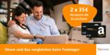 2x 35€ Amazon Gutschein für Strom- und Gas-Wechsel über Verivox
