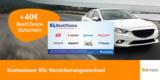 KFZ Versicherung über Verivox wechseln + 40€ BestChoice-/Amazon Gutschein
