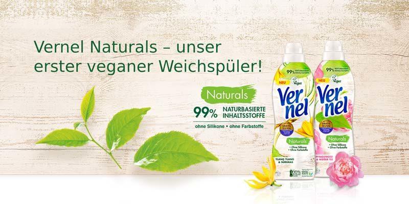 Vernel Naturals Gratis testen mit Vernel-Geld-zurück-Aktion