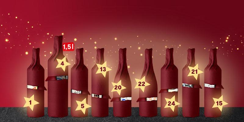 Vinos.de Adventskalender 2020: Jeden Tag ein anderer Wein im Angebot