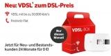 Vodafone DSL Anschluss 50.000 ab 24,95€/Monat