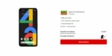 Vodafone Green LTE 5GB Tarif + Google Pixel 4a für 12,99€/Monat