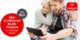 Kostenloses WLAN: Vodafone Hotspot Tagesticket für 0€