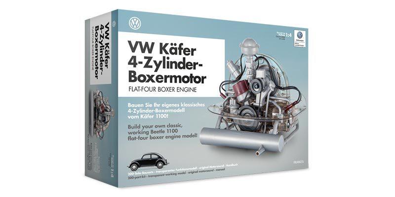 VW Käfer 4-Zylinder-Boxermotor Funktionsmodell (transparent) für 104,95€