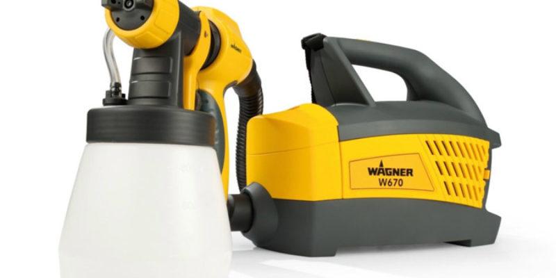 Wagner Farbsprühgerät W670 für Lacke & Lasuren für 79,99€