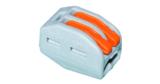 50x Wago Verbindungsklemmen mit Betätigungshebel 222-412 (2×0,08-2,5mm²) für 7,40€