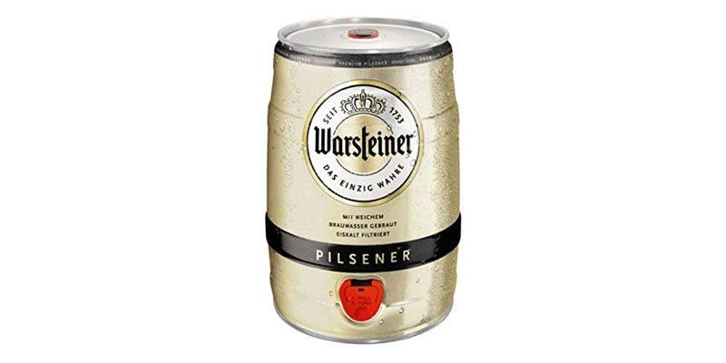 5 Liter Warsteiner Premium Pilsener Fässchen für 5,99€