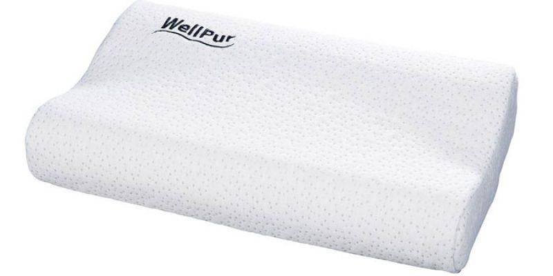 WellPur Nackenstützkissen/Kopfkissen (47x30cm) für 10€ + evtl. 5,99€ Versand