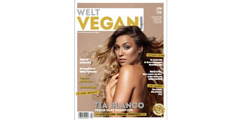 Kostenlos: Welt Vegan Magazin Jahresabo als e-Ausgabe für 0€ (selbstkündigend)