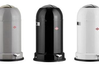 Wesco Kickmaster Mülleimer Classic Line Soft (33 Liter) sandbeige, schwarz, rot, grau oder weiß für 94,71€