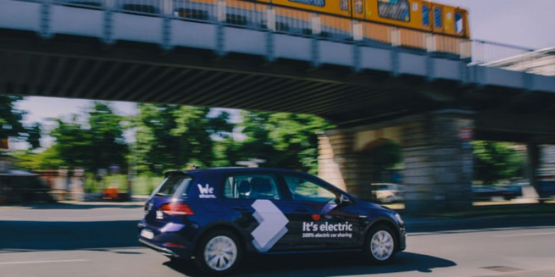 Kostenlose WeShare Registrierung + 10€ Startguthaben + 11€ Gutschein (Bestandskunden) – CarSharing mit Elektroautos (e-Golf)