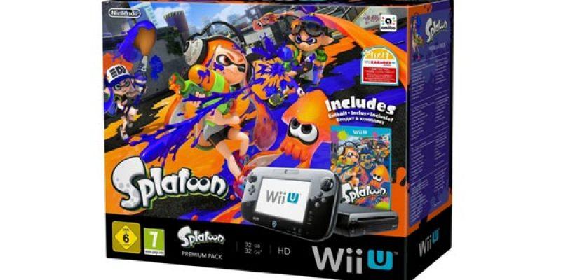 Wii U Premium Pack mit Splatoon für nur 219€