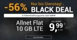 winSIM Black Deal – 10 GB LTE + Allnet-Flat & SMS-Flat für 9,99€/Monat