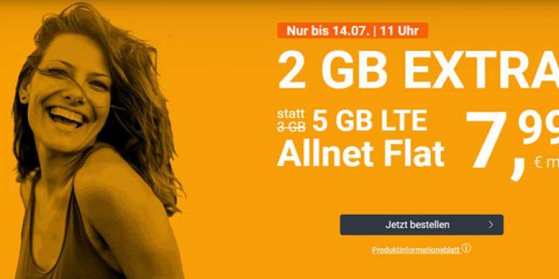 winSIM LTE All Tarife: z.B. All-Net-Flat mit 5 GB Internet für 7,99€/Monat